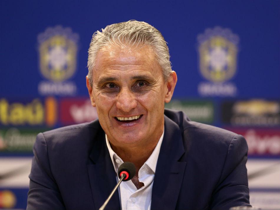 """Resultado de imagem para Tite evita polêmicas com Osorio: """"responsabilidade de Neymar é jogar"""""""